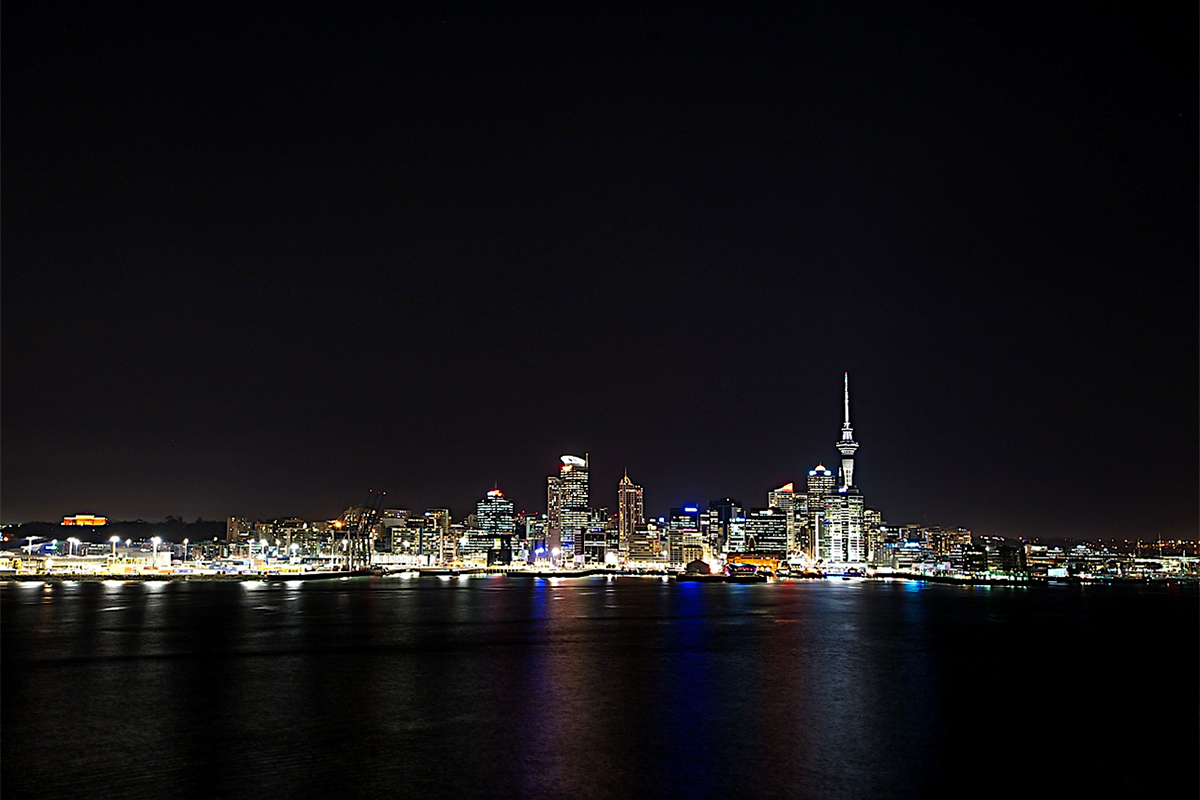 Auckland, Night, Night_Photography, Landscape, Cityscape, Skytower, Harbour, Water, Tableau_Creative, TableauCreative,City, Tableau_Creative,
