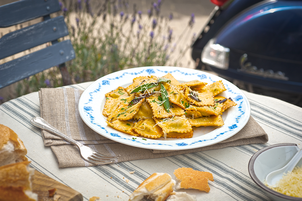 Ravioli, Vespa, Garden, FoodPhotography, Photography, Food, Tableau_Creative, TableauCreative,