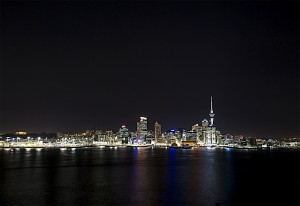 Auckland from Stanley Point, Devonport.