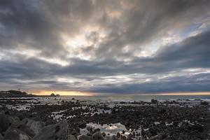Sunset, New Plymouth, Taranaki, NZ.