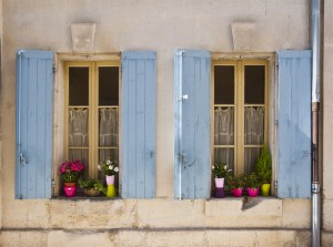 Apartment Windows, St.Remy de Provence, France